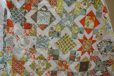 Anthea's Jelly Roll quilt